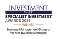 Investment Week Specialist Investment Awards 2017