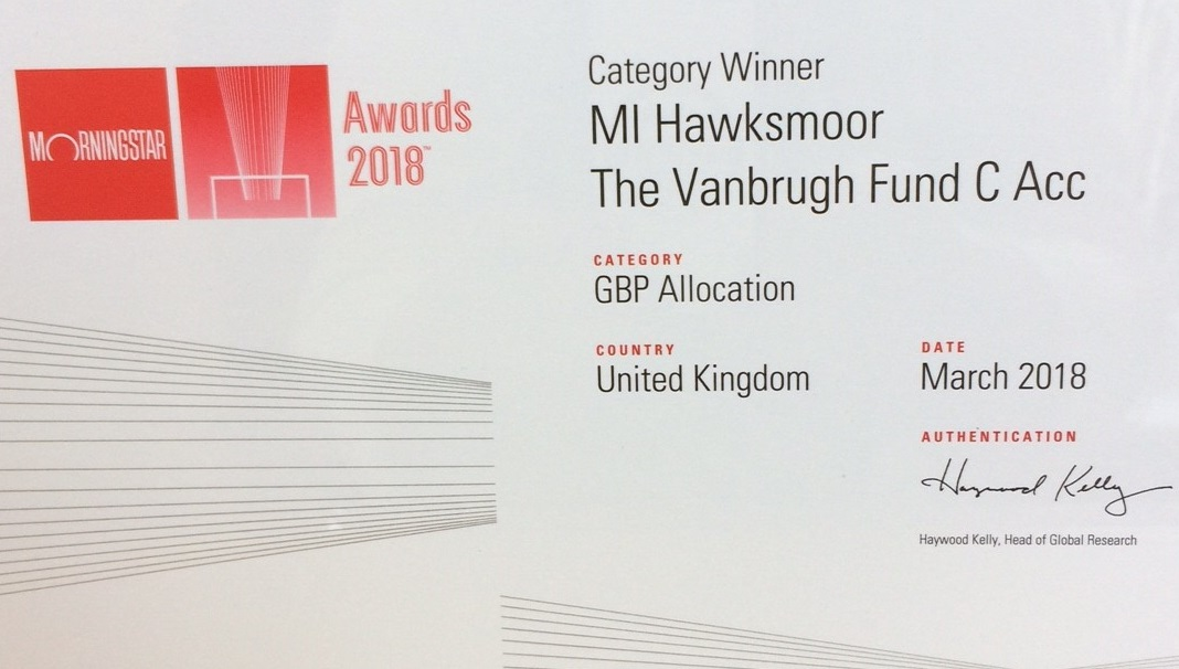 Morningstar UK Fund Awards 2018